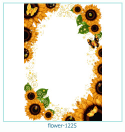 fleur Cadre photo 1225