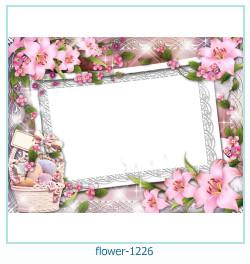 fleur Cadre photo 1226