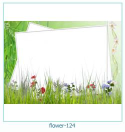 Marco de la foto de la flor 124