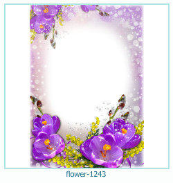 flower Photo frame 1243