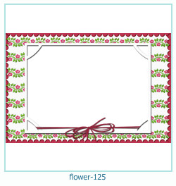 flower Photo frame 125
