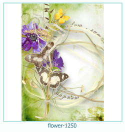 flower Photo frame 1250