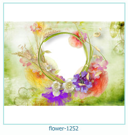 flower Photo frame 1252