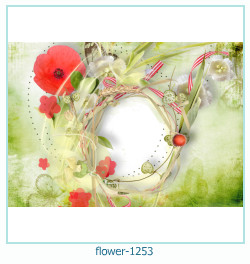 flower Photo frame 1253