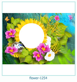 flower Photo frame 1254