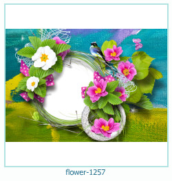 flower Photo frame 1257