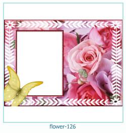 Marco de la foto de la flor 126