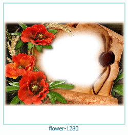 flower Photo frame 1280