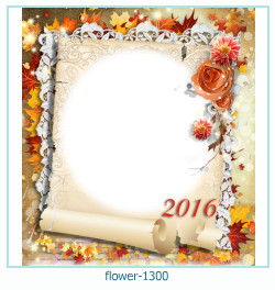 flower Photo frame 1300