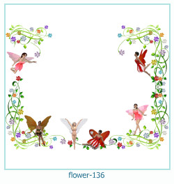 flower Photo frame 136