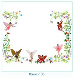 Marco de la foto de la flor 136