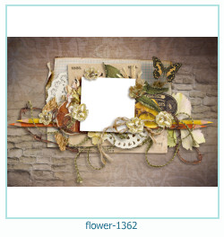 flower Photo frame 1362