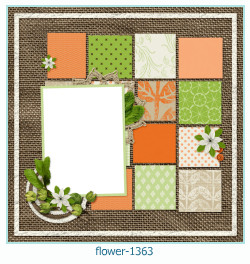 flower Photo frame 1363