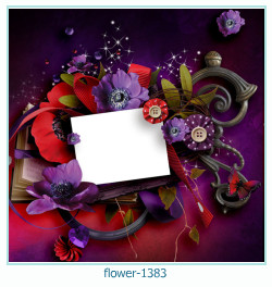 flower Photo frame 1383