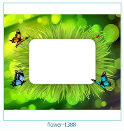 flower Photo frame 1388