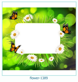 flower Photo frame 1389