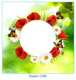 flower Photo frame 1390