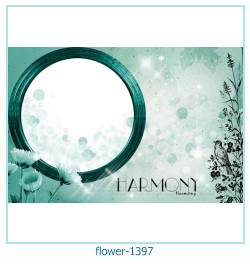 flower Photo frame 1397