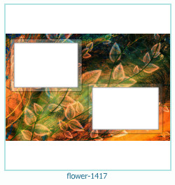 flower Photo frame 1417