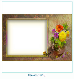 flower Photo frame 1418