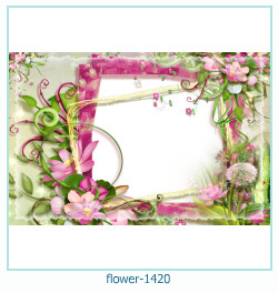 flower Photo frame 1420