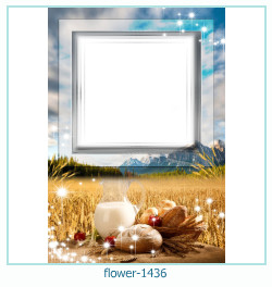 flower Photo frame 1436
