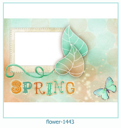 flower Photo frame 1443