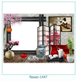 flower Photo frame 1447