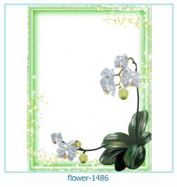 flower Photo frame 1486