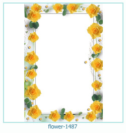 flower Photo frame 1487