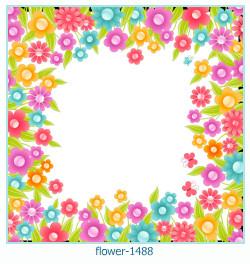 flower Photo frame 1488