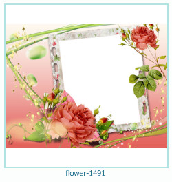 flower Photo frame 1491