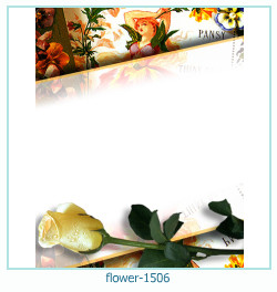 flower Photo frame 1506