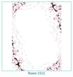 flower Photo frame 1512