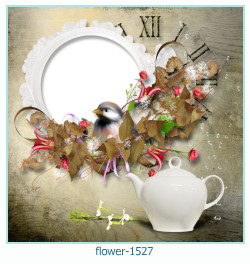 flower Photo frame 1527