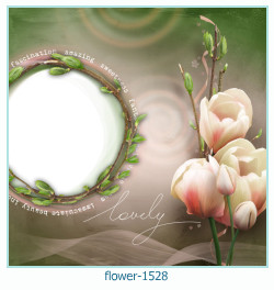 flower Photo frame 1528