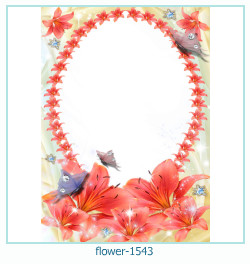 flower Photo frame 1543