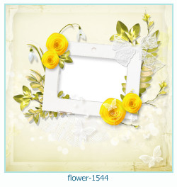 Marco de la foto de la flor 1544