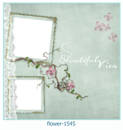 flower Photo frame 1545
