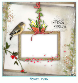 flower Photo frame 1546