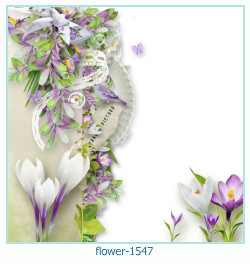 flower Photo frame 1547