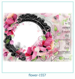 flower Photo frame 1557