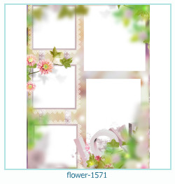 fleur Cadre photo 1571