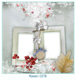 flower Photo frame 1578