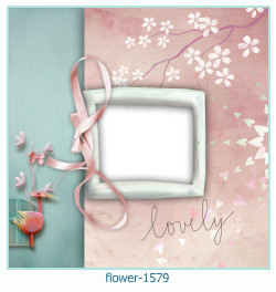 flower Photo frame 1579