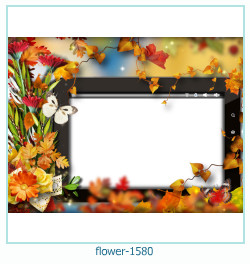 flower Photo frame 1580