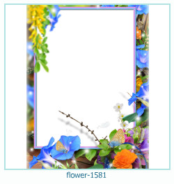 flower Photo frame 1581