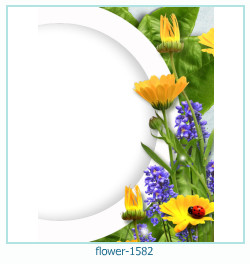 flower Photo frame 1582