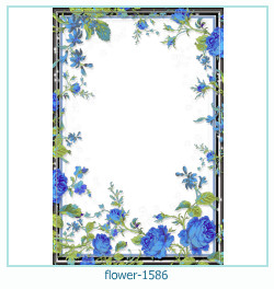 flower Photo frame 1586