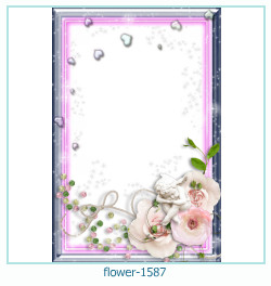 flower Photo frame 1587